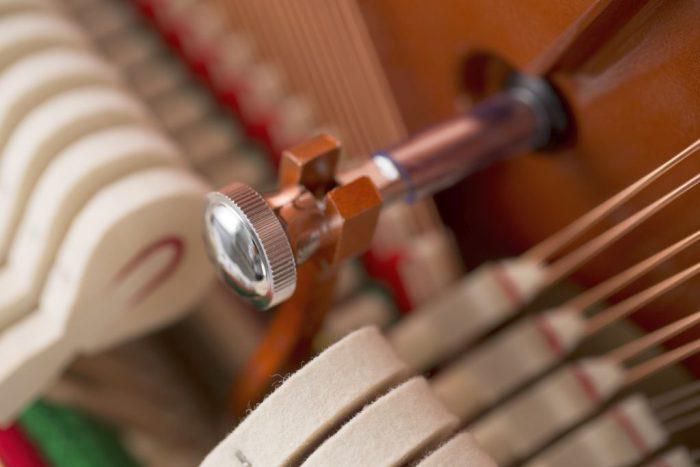 122 Detail 13 hammers strings web 700x467 - خرید پیانو فویریخ مدل 122 Feurich