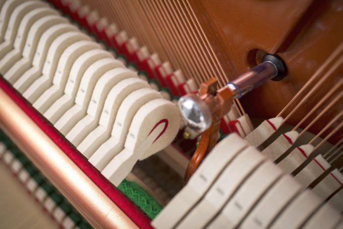 122 Detail 18 hammers 5 web 700x467 - خرید پیانو فویریخ مدل 122 Feurich