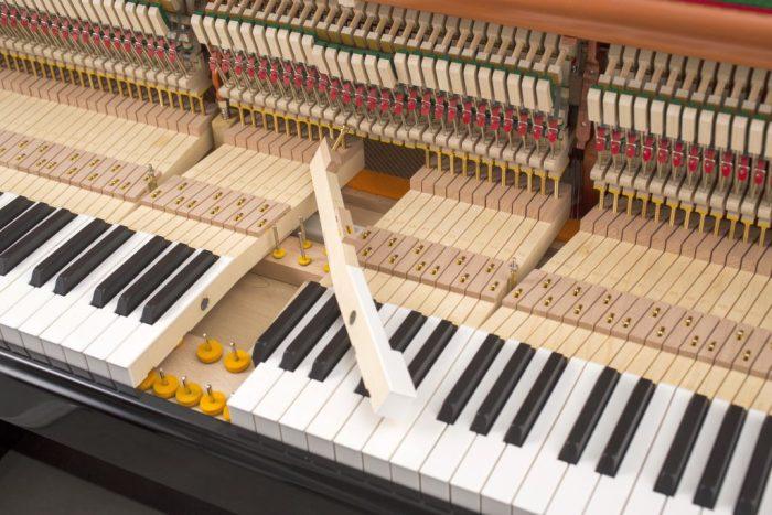 122 Detail 22 keys felts 2 web 700x467 - خرید پیانو فویریخ مدل 122 Feurich