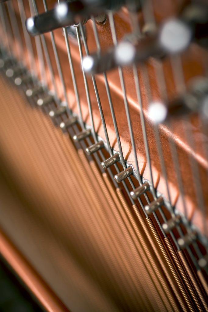 122 Detail 8 bass strings web - خرید پیانو فویریخ مدل 122 Feurich